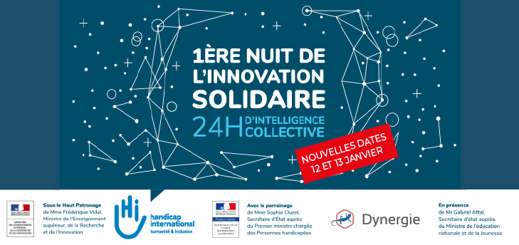 Handicap International x Dynergie : Hackathon innovation sociale et solidaire