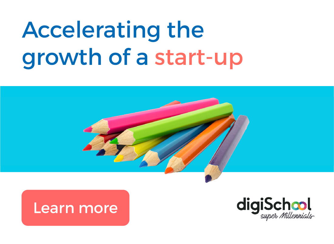 Accelerating the growth of a startup by Dynergie