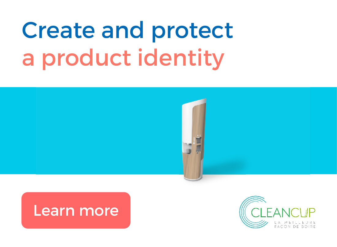 Create and protect a product identity by Dynergie
