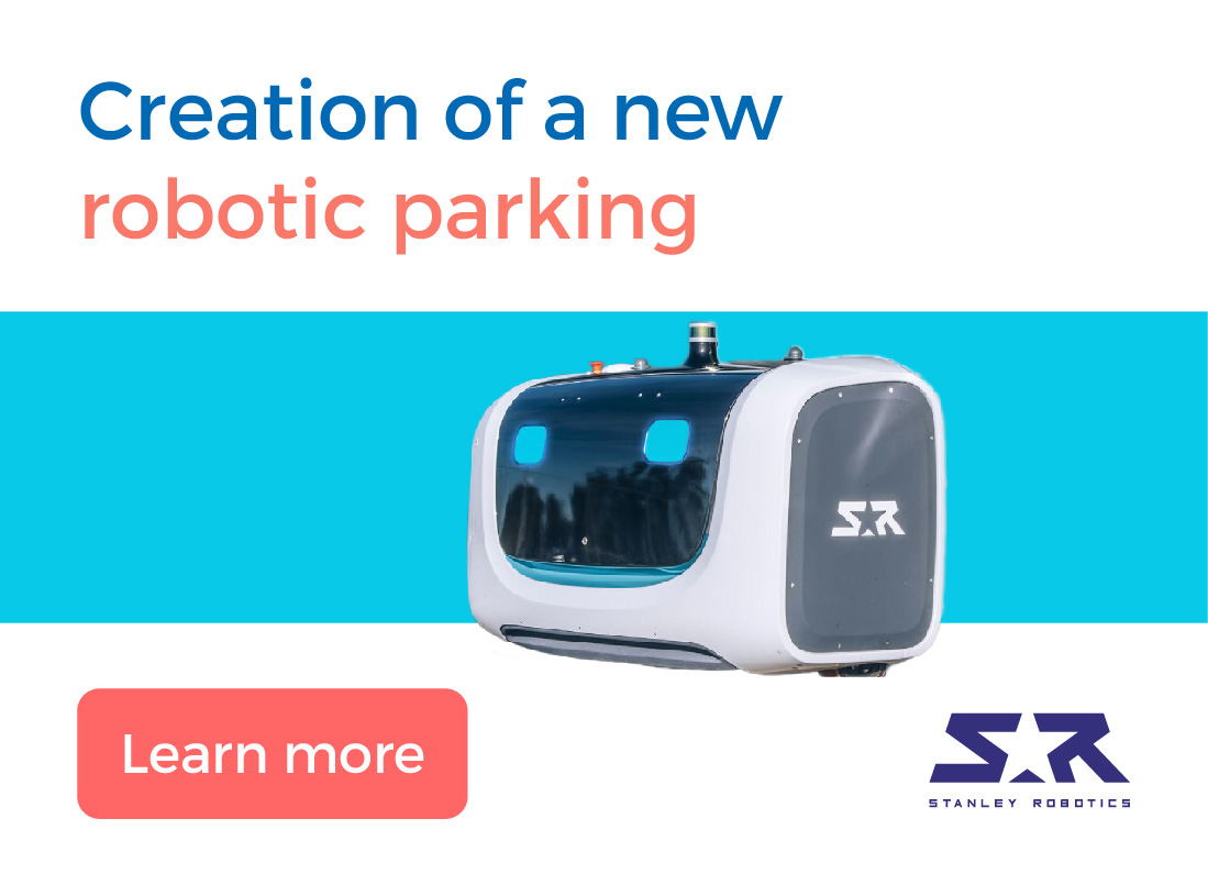Creation of a new robotic parking