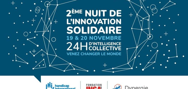 Deuxième Nuit de l'Innovation Solidaire - Handicap International /  Dynergie / la Fondation INSA